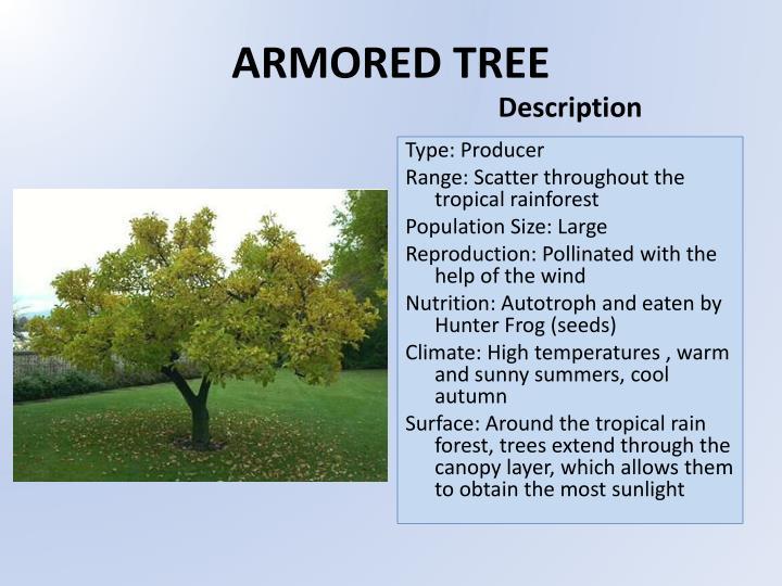 Armored tree