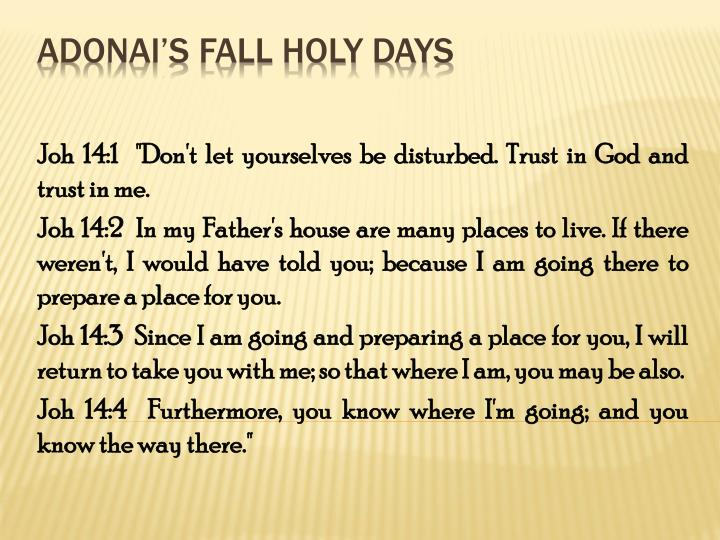adonai s fall holy days n.