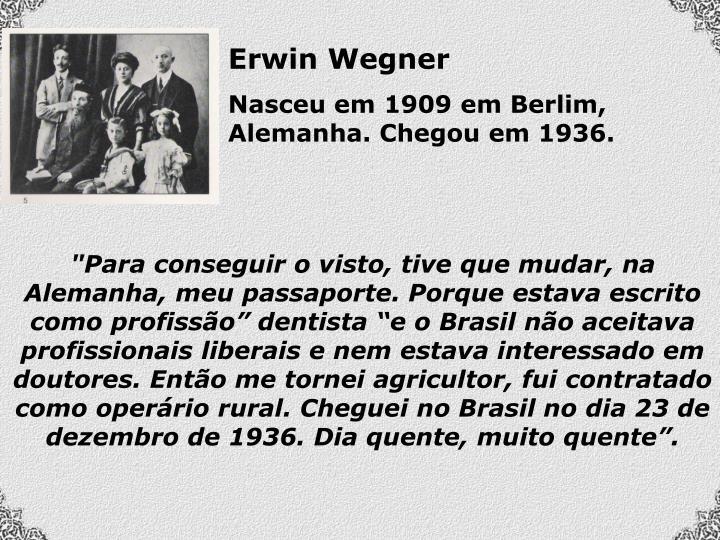Erwin Wegner