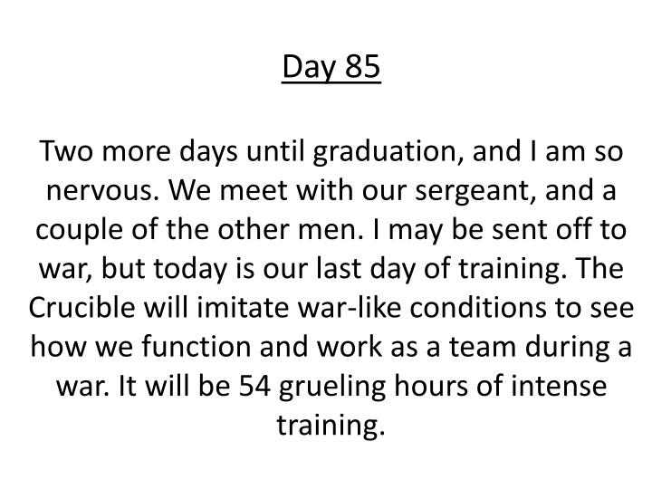 Day 85