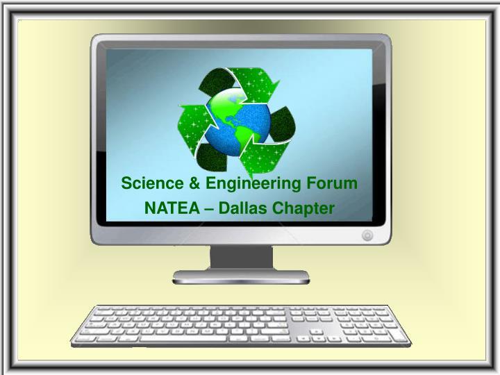 Science & Engineering Forum