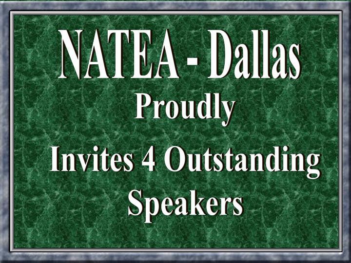 NATEA - Dallas