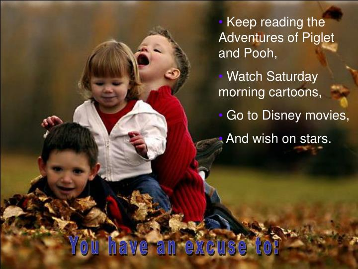 Keep reading the Adventures of Piglet and Pooh,