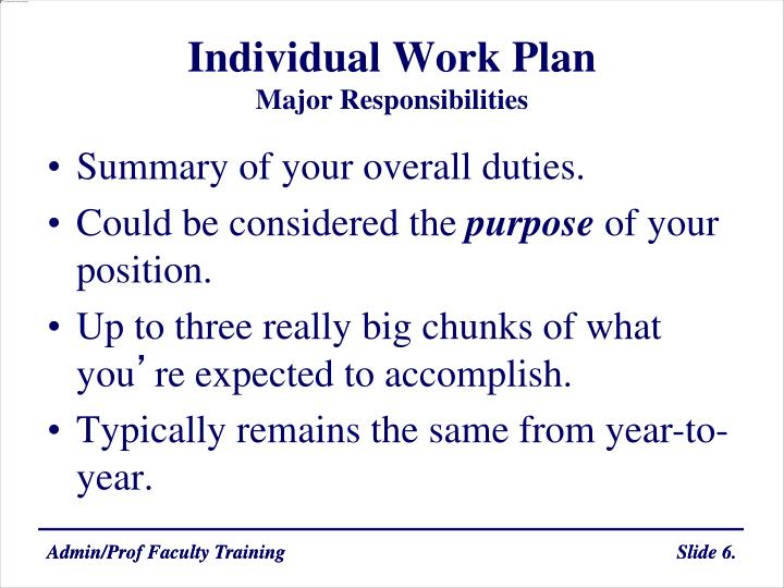 individual work The work gives a possibility for growth and development practical impact worklife becomes more meaningful and motivating as it could be perceived as an arena for personal growth and development.