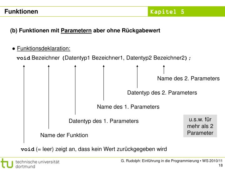 Name des 2. Parameters