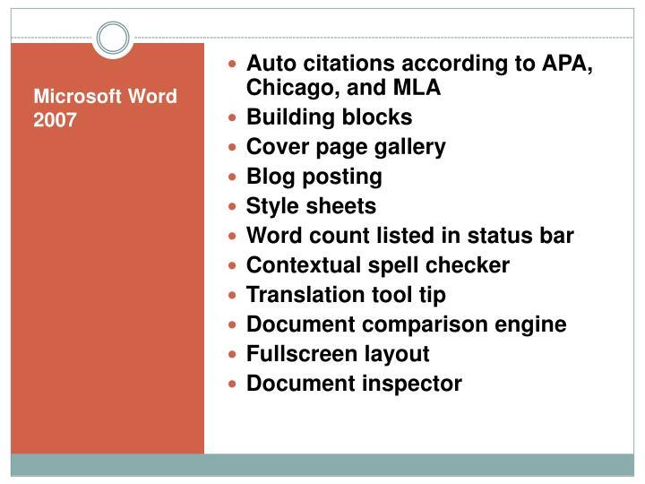 Auto citations according to APA, Chicago, and MLA