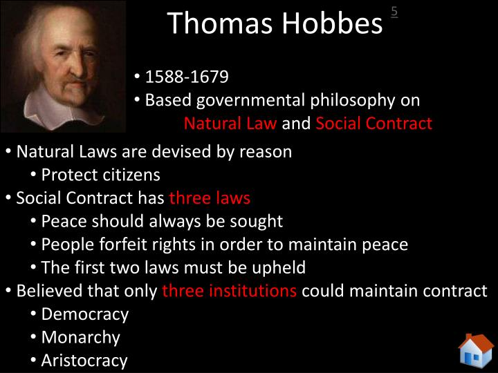 Thomas Hobbes Social Contract Quotes Custom Ppt  The Philosophers That Shaped America Powerpoint Presentation