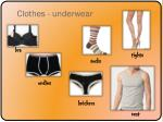 clothes underwear