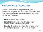 performance objectives3