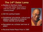 the 14 th dalai lama1