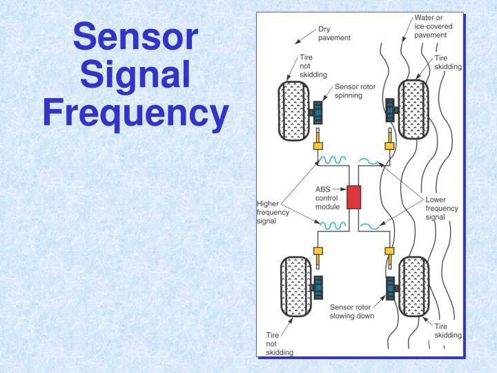 Sensor Signal Frequency