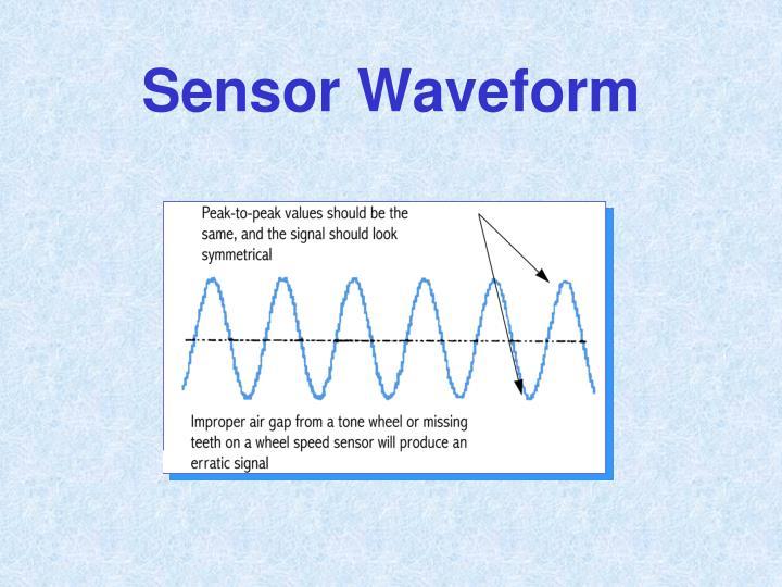 Sensor Waveform