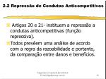 2 2 repress o de condutas anticompetitivas