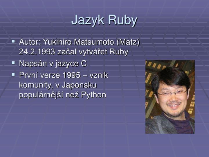 Jazyk Ruby