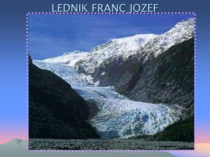 Lednik franc jozef