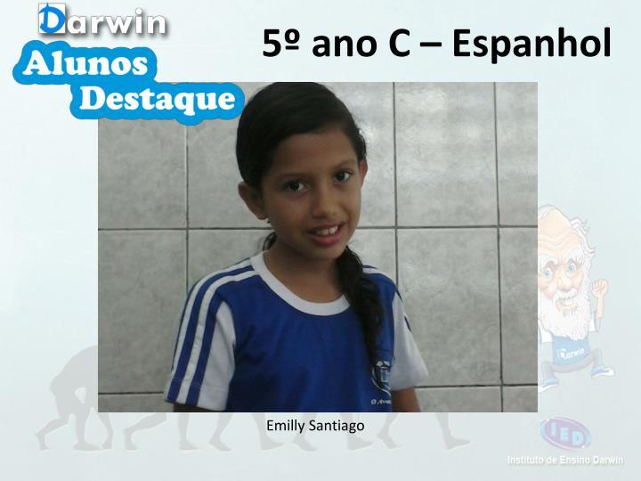 5º ano C – Espanhol