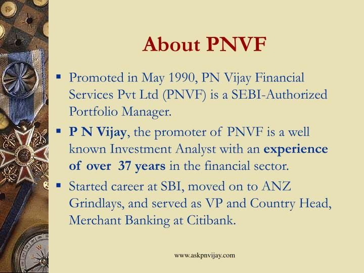 About pnvf