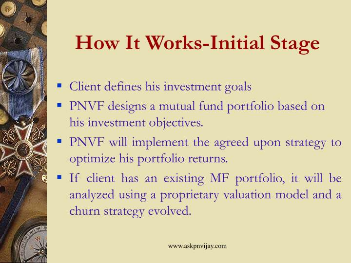 How It Works-Initial Stage