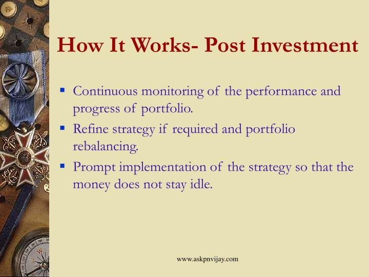 How It Works- Post Investment