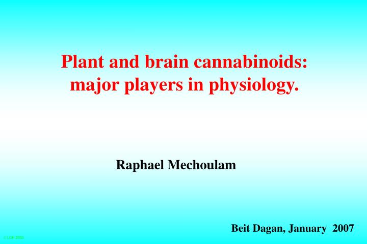 plant and brain cannabinoids major players in physiology n.