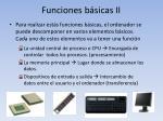 funciones b sicas ii