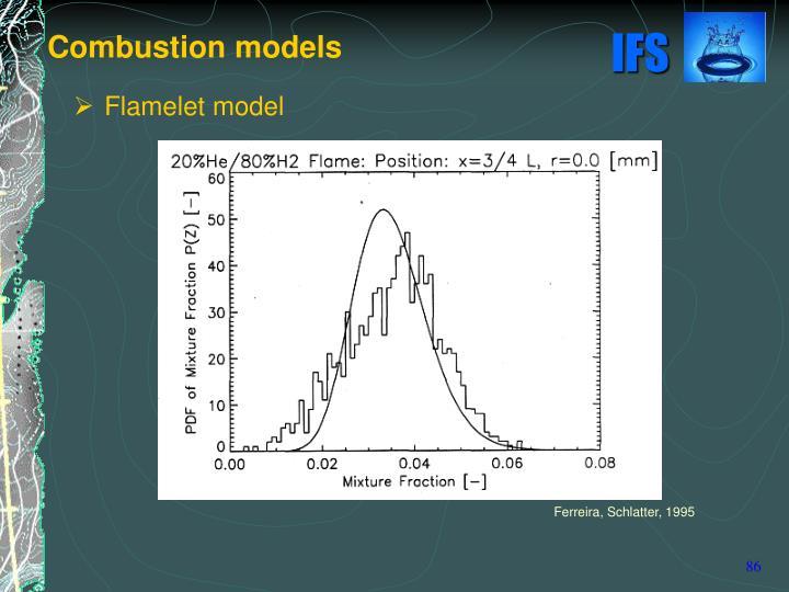 Combustion models