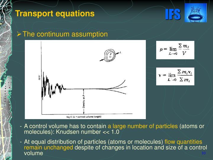 The continuum assumption