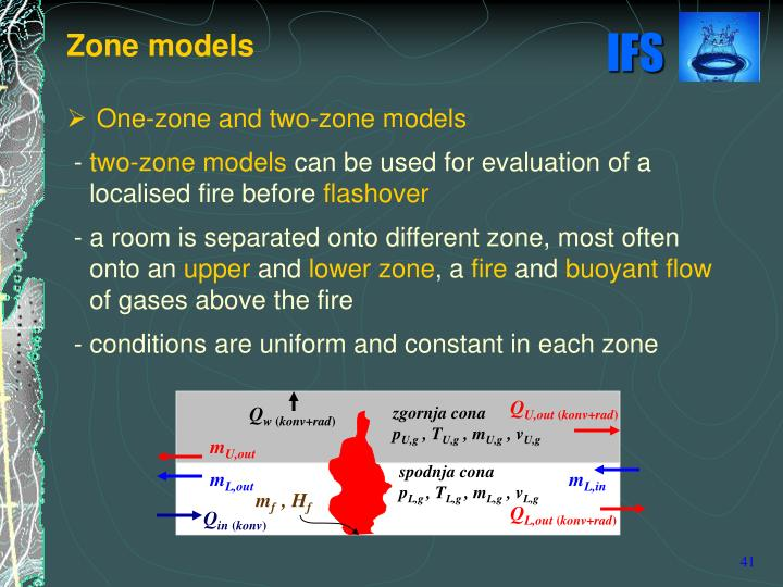One-zone and two-zone models