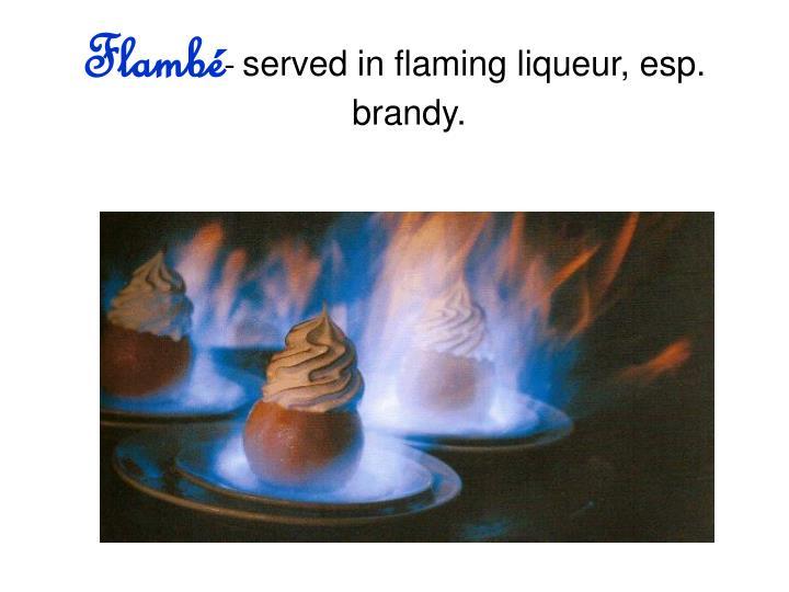 Flambé