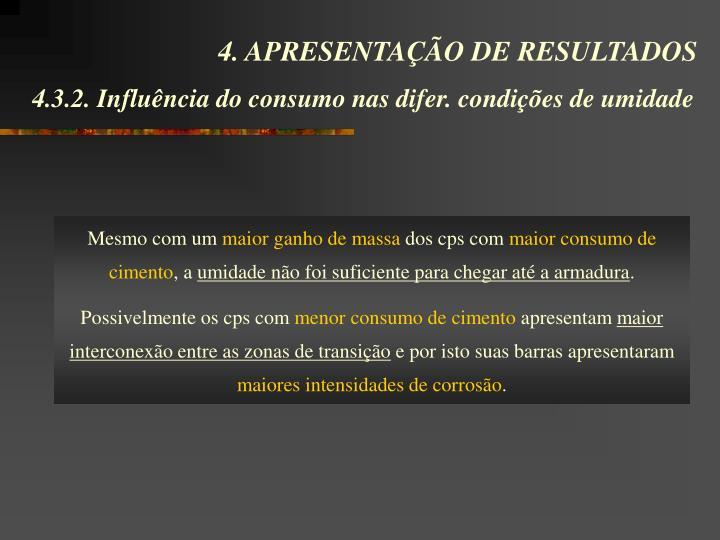 4. APRESENTAÇÃO DE RESULTADOS