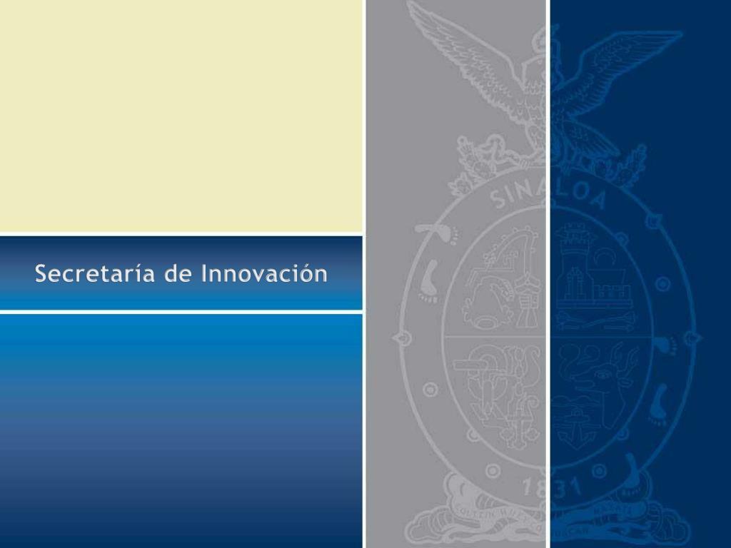 Ppt Secretaría De Innovación Powerpoint Presentation Id