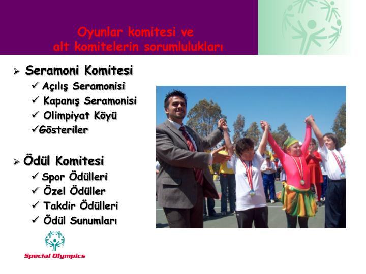 Seramoni Komitesi