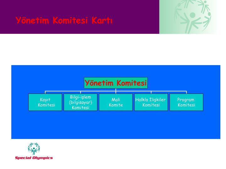 Yönetim Komitesi Kartı