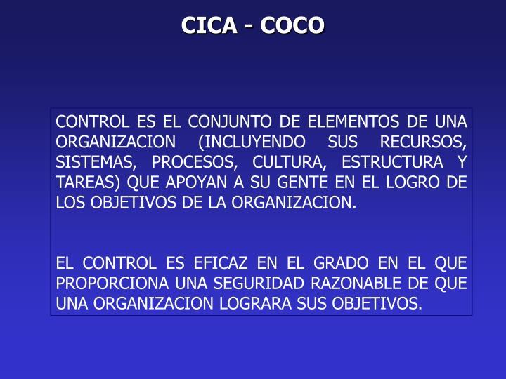 CICA - COCO