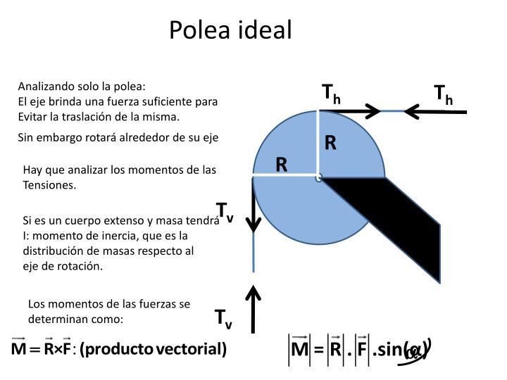 Polea ideal1