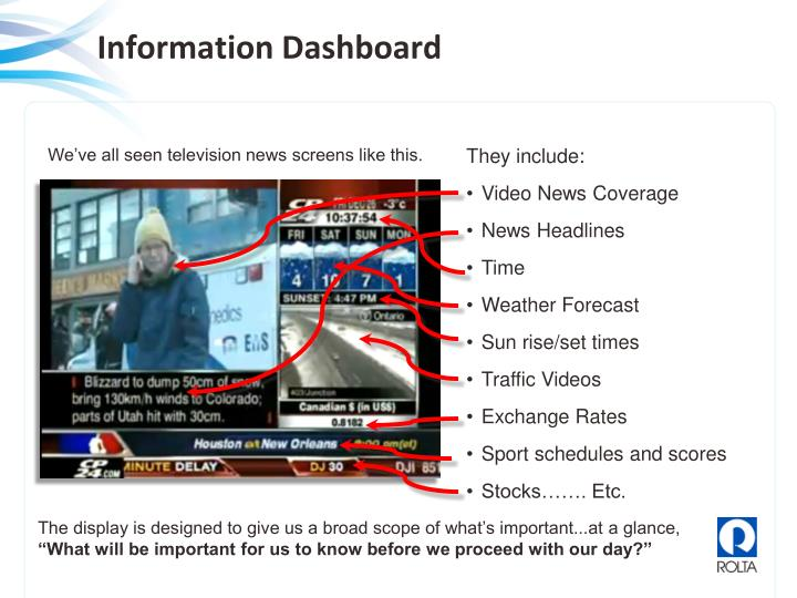 Information Dashboard