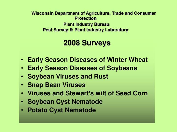 Wisconsin Department of Agriculture, Trade and Consumer Protection