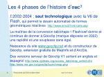 les 4 phases de l histoire d e m c 32