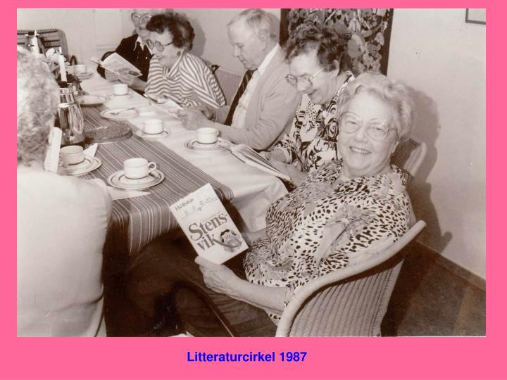 Litteraturcirkel 1987