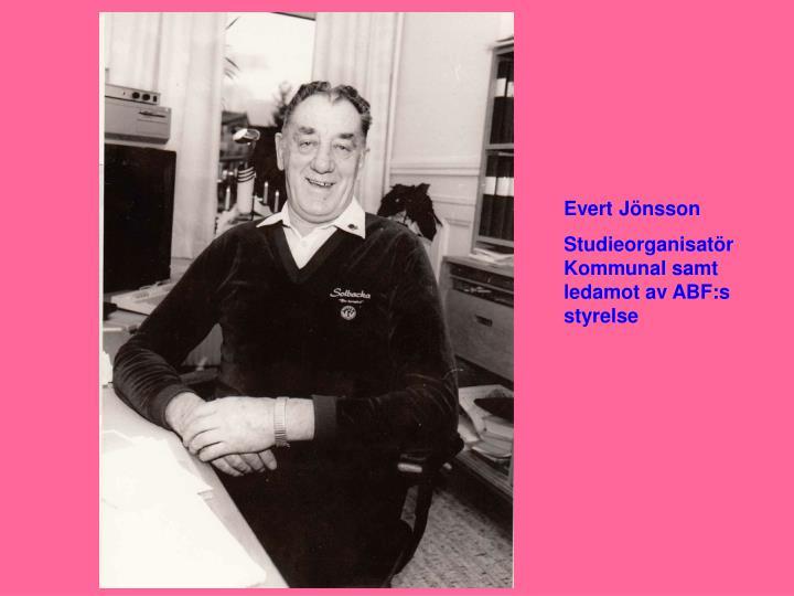 Evert Jönsson