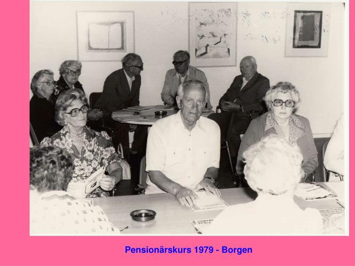 Pensionärskurs 1979 - Borgen