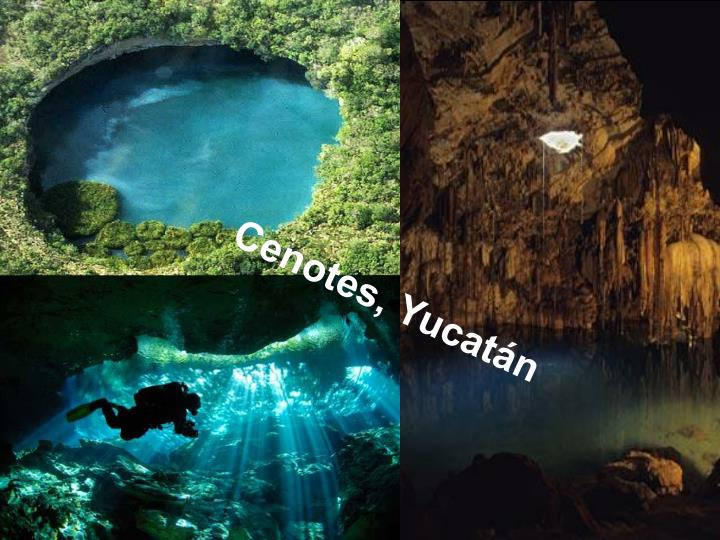 Cenotes, Yucatán