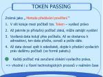 token passing