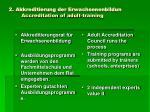 2 akkreditierung der erwachsenenbildun accreditation of adult training