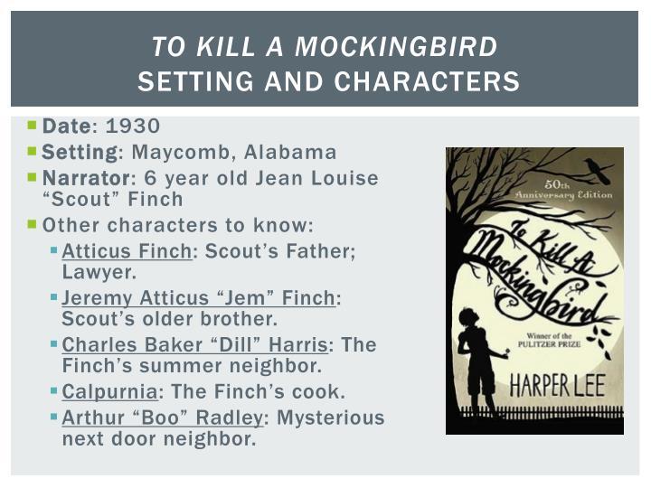 to kill a mockingbird year setting