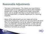 reasonable adjustments2