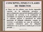 concepto fines y clases de tributos1