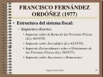 francisco fern ndez ord ez 19772
