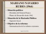 mariano navarro rubio 1964