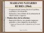 mariano navarro rubio 19641